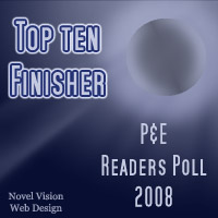 Top Ten Finisher - P&E Readers Poll 2008 - Best Book Reviews Category